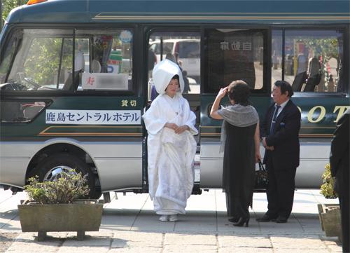 鹿島神社 参道に到着