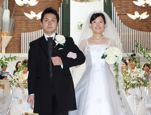 メルパルクの結婚写真