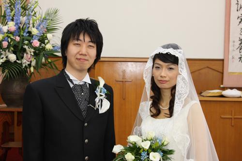 世田谷中央教会の結婚写真