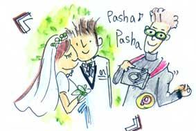 結婚写真のスナップカメラマン